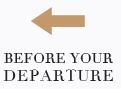 Before your departure